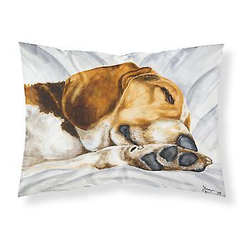 Carolines Treasures  AMB1076PILLOWCASE Beagle Bliss Fabric Standard Pillowcase