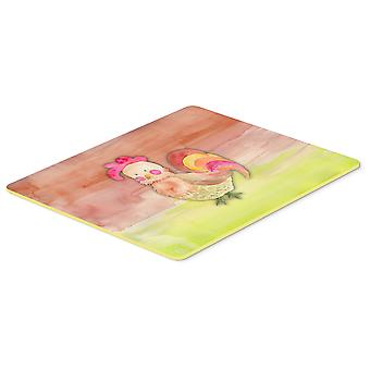 Carolines Treasures  BB7417CMT Rooster Watercolor Kitchen or Bath Mat 20x30