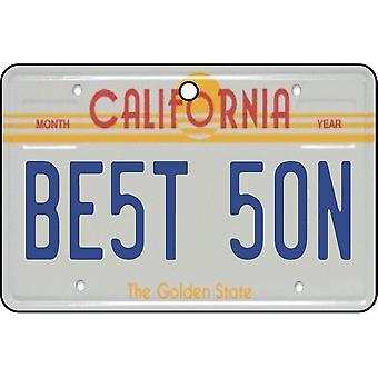 California - Best Son License Plate Car Air Freshener