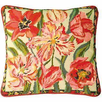 Peach Blossom Tulipes Tapisserie Kit