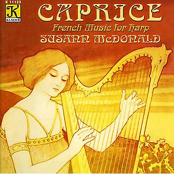 Susann McDonald - Caprice: French Music for Harp [CD] USA import