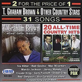 T. Graham Brown & Other Country Stars - T. Graham Brown & Other Country Stars [CD] USA import
