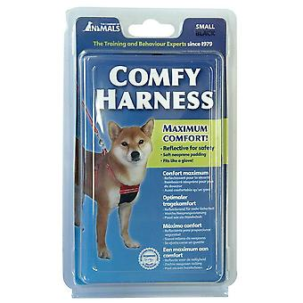 Company Of Animal Comfy Dog Harness Black Extra Small