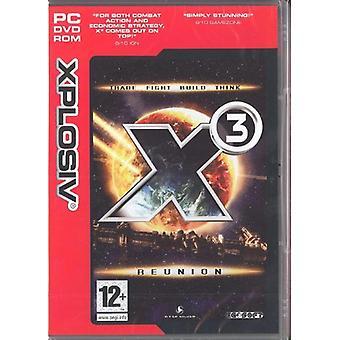 X3 Reunion (PC CD)-fabriken förseglad