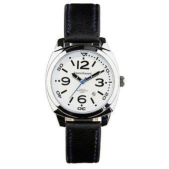 Relógio de pulso relógio de Bruno Banani de Cetos BR30016 analógico de couro