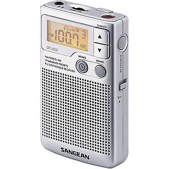 Sangean Pocket 250 Pocket radio FM, AM Silver