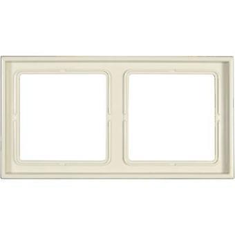 Jung 2x Frame LS 990 Cream-white LS982W