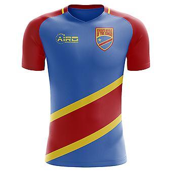 2020-2021 DR Congo Home Concept Jalkapallo paita - Aikuisten Pitkähihainen