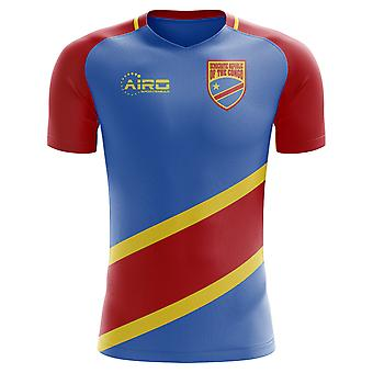 2020-2021 DR Congo Home Concept Football Shirt - Adult Long Sleeve