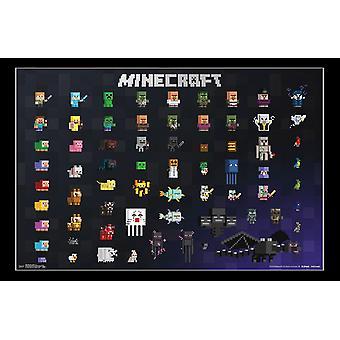 Minecraft - sprite 20 Juliste Tulosta