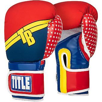 Titel boksen geïnfundeerd Foam Training bokshandschoenen - Justitie