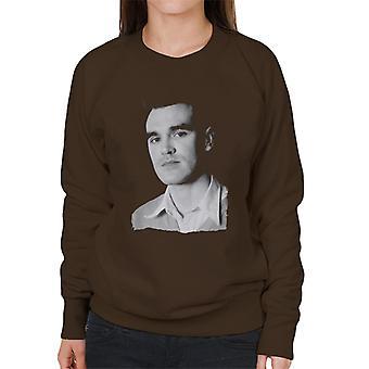 The Smiths Studio Portrait Of Morrissey Women's Sweatshirt