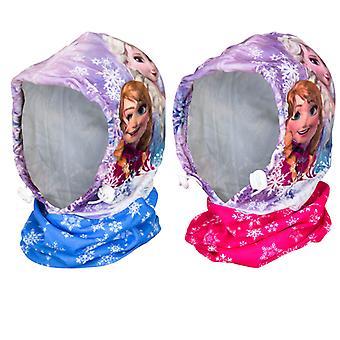 Disney Frozen Frost Elsa and Anna beanie/shawl/Windshields