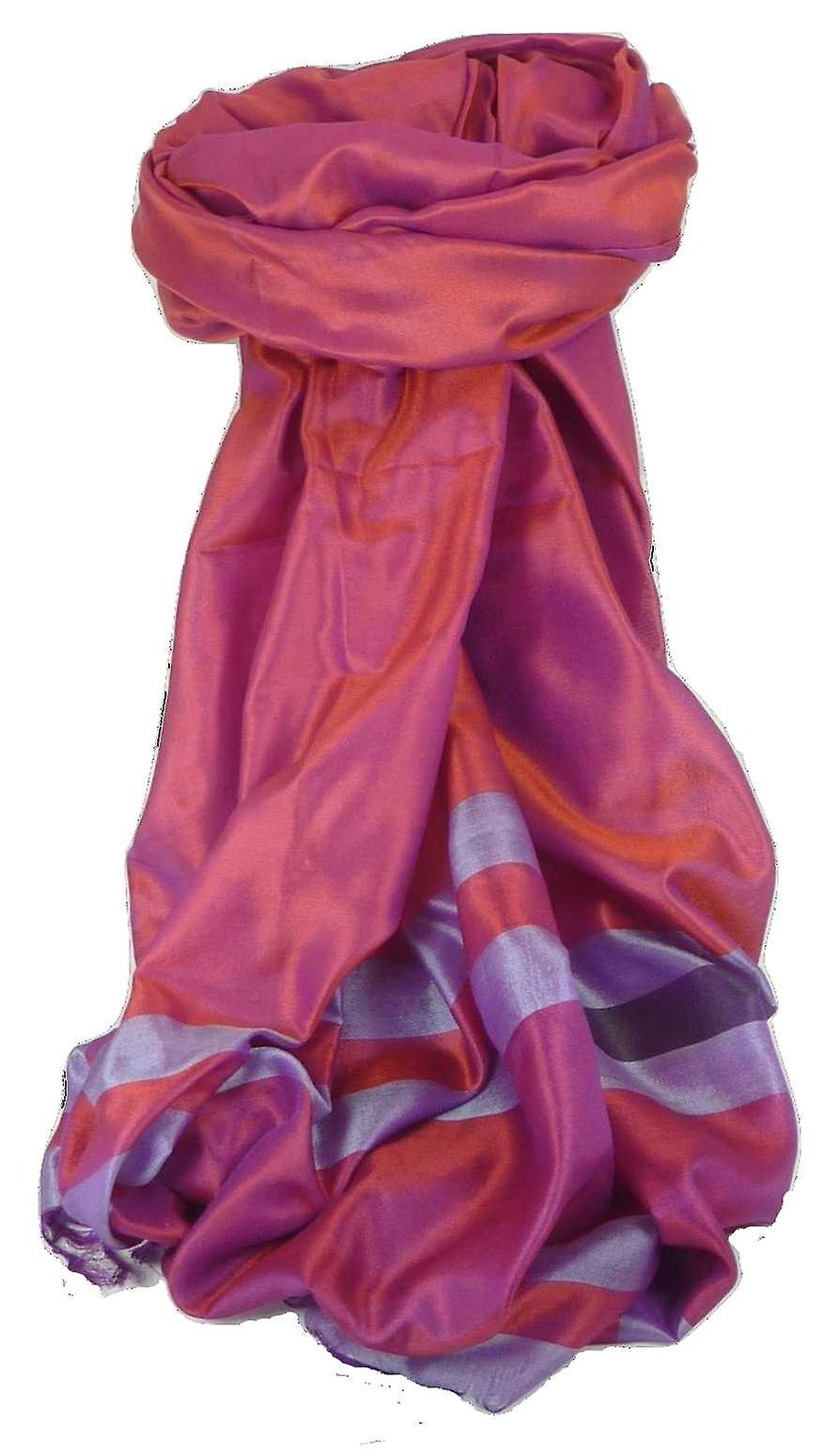 Varanasi Border Prime Silk Long Scarf Heritage Sandeep 305 by Pashmina & Silk