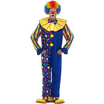 Costume de clown luxe combinaison combinaison de carnaval cirque anneau