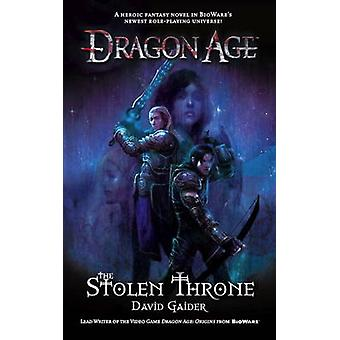 Dragon Age - gestohlene Thron von David Gaider - 9781848567535 Buch