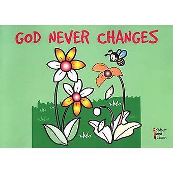 Gud aldri endres - farge og lære av MacKenzie Carine - Carine Mack