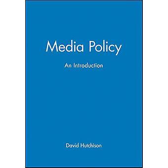 Medienpolitik - eine Einführung von David Hutchison - 9780631204343 Buch