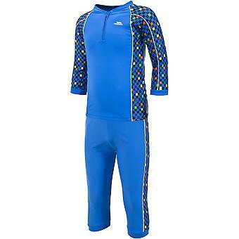 Hausfriedensbruch jungen & Mädchen Smiley zwei Stück UV Schutz Schwimmen Set
