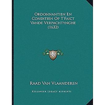 Ordonnantien no Conditien Op Ta Acentsacentsa A-Acentsa Acentsfaict Vande Verpachtynghe (1632)