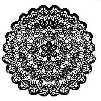 Stamperia Natural Rubber Stamp Lace