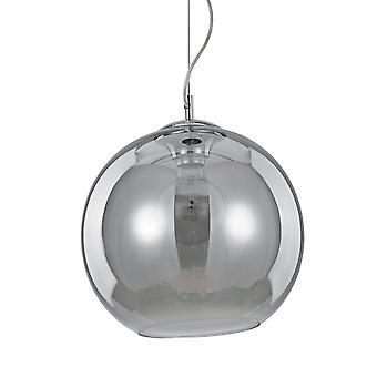 Ideal Lux Nemo humo cristal ahumado 300 globo colgante