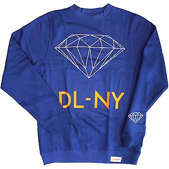 Diamond Supply Co DL-NY Sweatshirt Royal