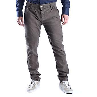 Jdc Ezbc336001 Men's Brown Cotton Pants