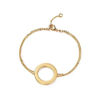 Kaytie Wu Gold Plated Circle Bracelet 28069