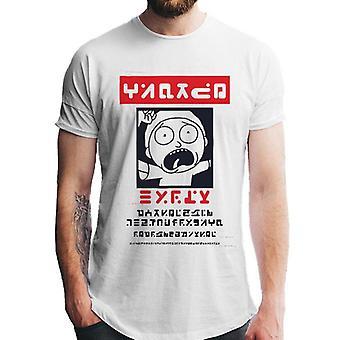 Rick y Morty Unisex adultos Alien Morty quería póster camiseta