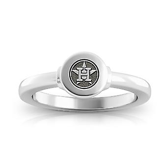 Houston Astros Ring In Sterling Silver Design by BIXLER