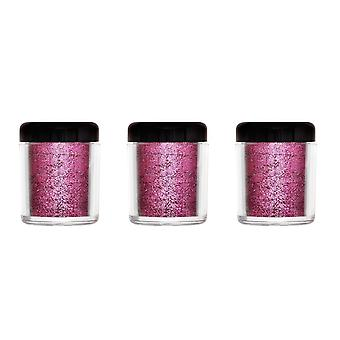 Barry M 3 X Barry M Glitter Rush Body Glitter - Carnival Queen