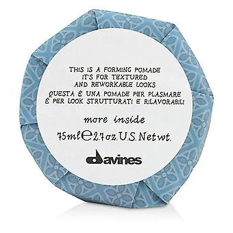 Davines More Inside This Is A Forming Pomade (for Textured And Reworkable Looks) - 75ml/2.7oz