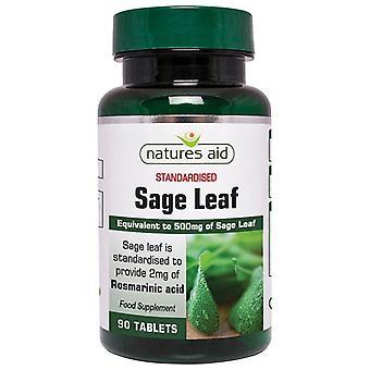 Nature's Aid Sage Leaf 50mg Tablets 90
