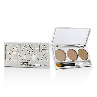 Natasha Denona On Cover Invisible Correcting Concealer Palette - # 01 Light - Medium 3x2ml/2.03g