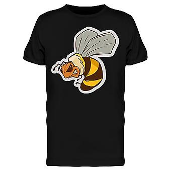 Angry Bee MASCOT tee miesten-kuva Shutterstockissa