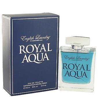 Royal aqua eau de toilette spray by english laundry 514672 100 ml