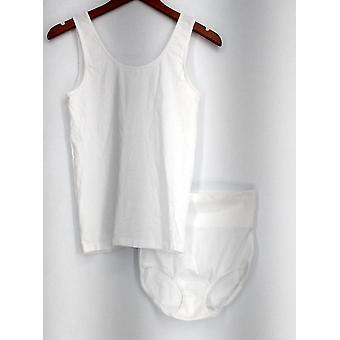 Legacy Shaper Shapewear Wardrobe w/ Cami & Bottoms Bianco A265776