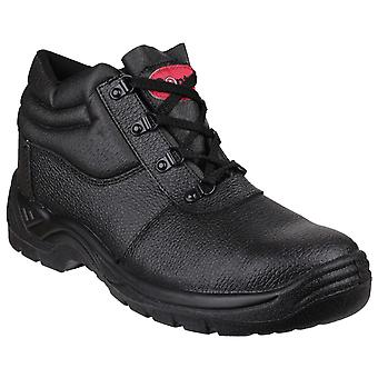 Centek Mens FS330 Lace-Up Boot Black