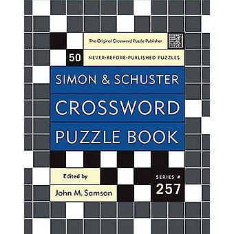 Simon and Schuster Crossword Puzzle Book by John M Samson - 978074328