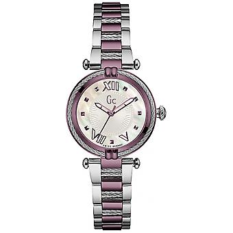 gc- ladychic Watch for Women Analog Quartz with Stainless Steel Bracelet Y18003L3