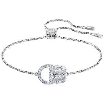 Swarovski ytterligare armband-vit-Rhodium pläterad-5498999