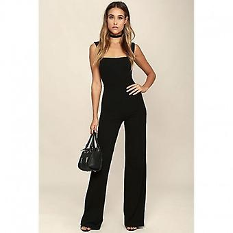 Long Elegant Overalls Jumpsuit