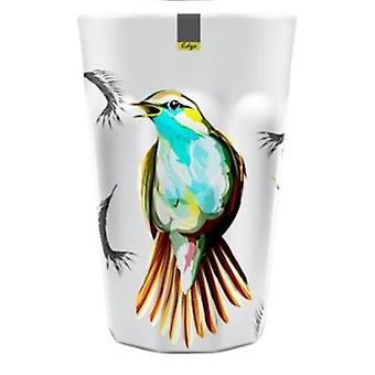 Bird Patterned Melamine Abstract Summer Tumbler 90 x 130mm Camping Kitchen