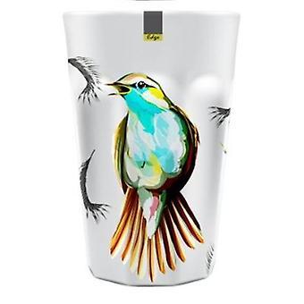Oiseau mélamine motifs abstraits Summer Tumbler 90 x 130mm cuisine Camping