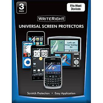 Body Glove WriteRight Universal Screen Protector - 3 Pack