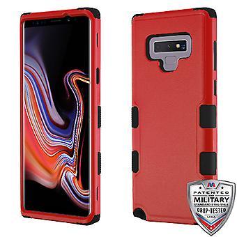 MYBAT luonnollinen punainen/musta TUFF Hybrid Protector suojus Galaxy Note 9