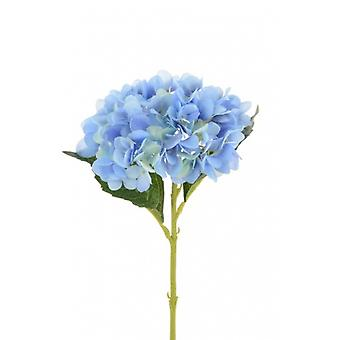 58cm Blue Artificial Silk Hydrangea for Weddings & Floristry