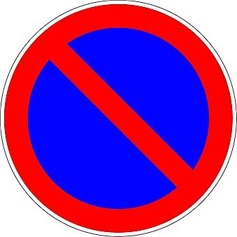 Sticker Sticker Truck Door Gate Parking Parking Forbidden Panel