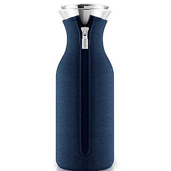 Eva solo karaffel med suit marineblå vævet 1,0 liter